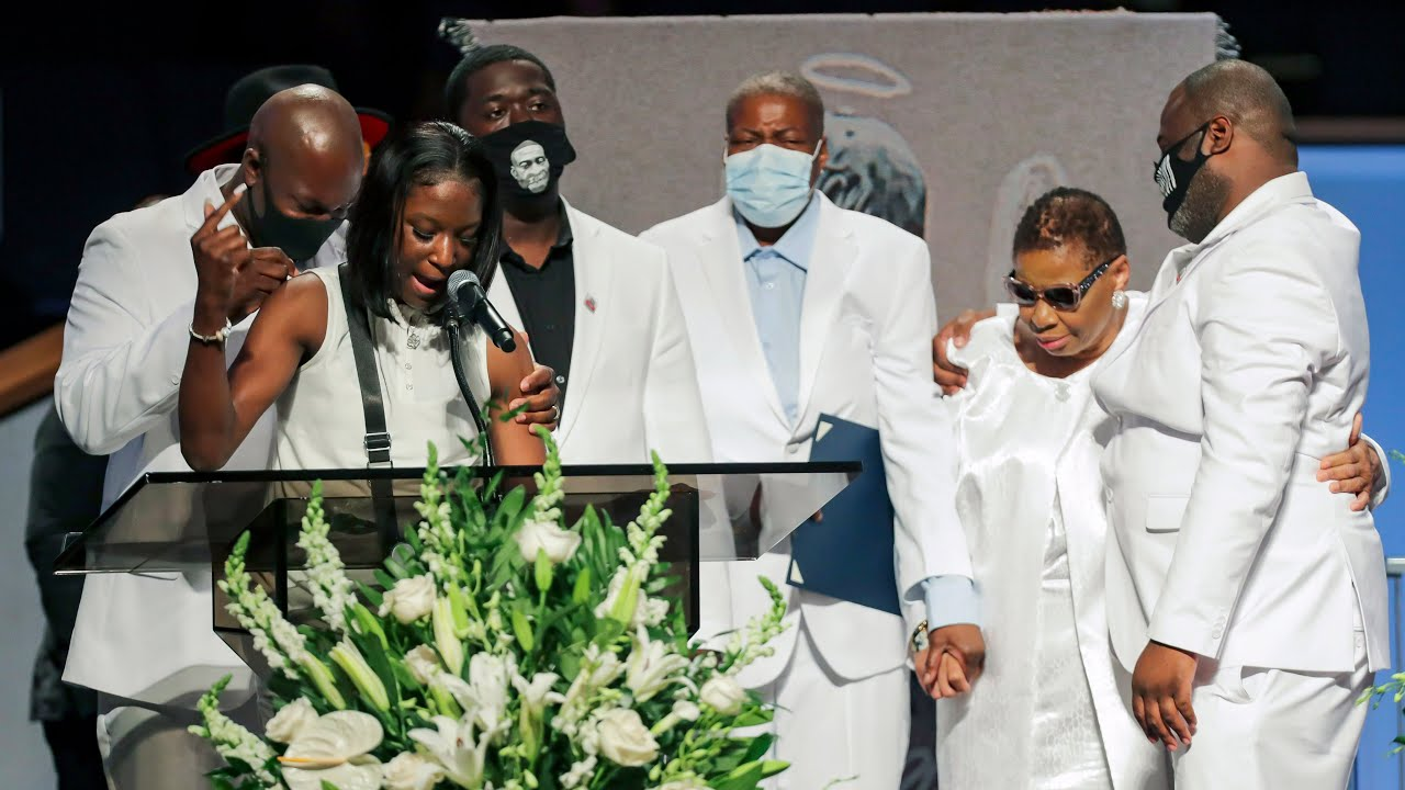 George Floyd's family gives emotional eulogy and calls for justice 7