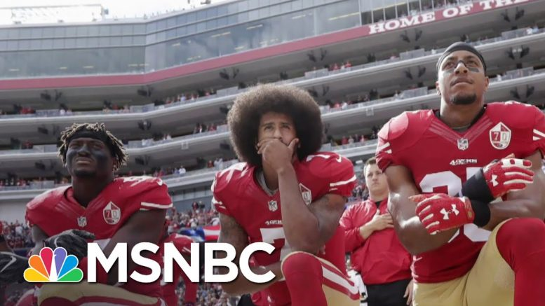 Donald Trump Attacks NFL Commissioner Over The League's Apology To Players | Deadline | MSNBC 1