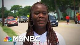 What Protestors Are Saying About Why They Are Out On The Streets Across U.S. | MTP Daily | MSNBC 3