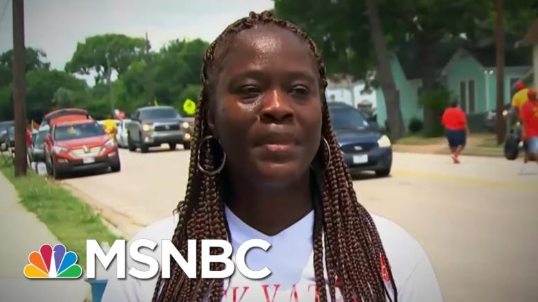 What Protestors Are Saying About Why They Are Out On The Streets Across U.S. | MTP Daily | MSNBC 1