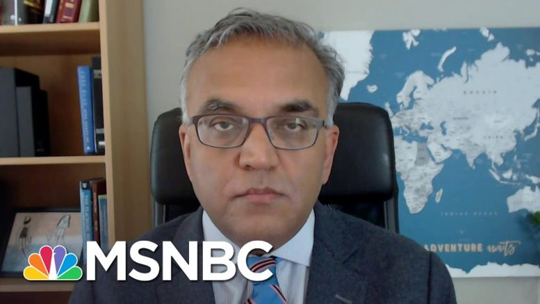 Dr. Jha: Protesters Should Get Tested For COVID-19 Before and After Protests | The Last Word | MSNBC 1