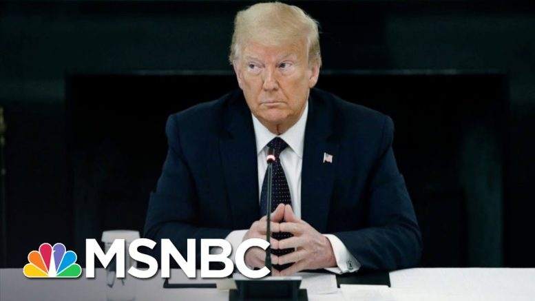 Trump Drops In Polls As Protests Hit 14th Day After George Floyd's Death | The 11th Hour | MSNBC 1
