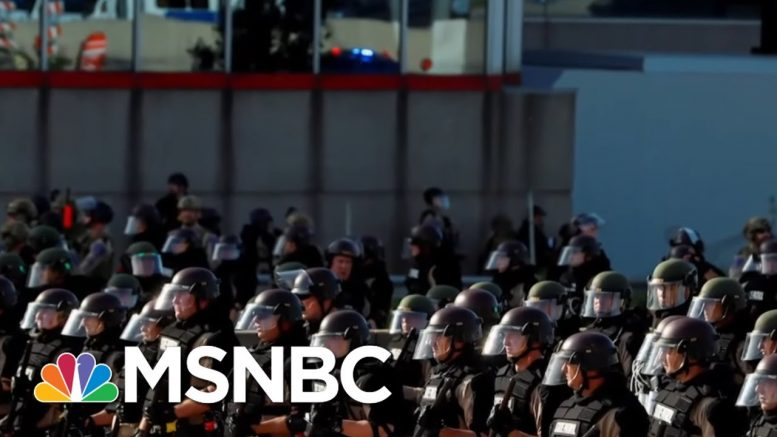 What Do Calls To Defund, Disband Or Dismantle Police Forces Really Mean? - Day That Was   MSNBC 1