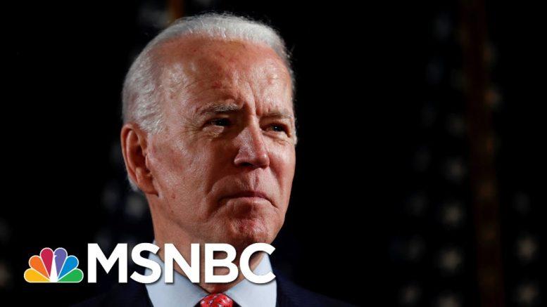 Joe Biden Says He Opposes Defunding The Police | Morning Joe | MSNBC 1