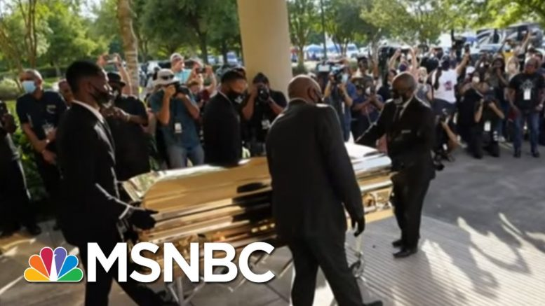 Thousands Attend Public Viewing For George Floyd | Morning Joe | MSNBC 1