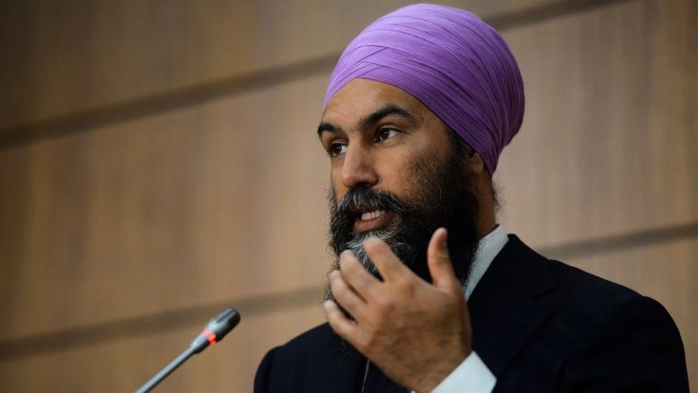 "The Liberal government is ""unwilling to meet us halfway"": Singh on CERB extension 1"