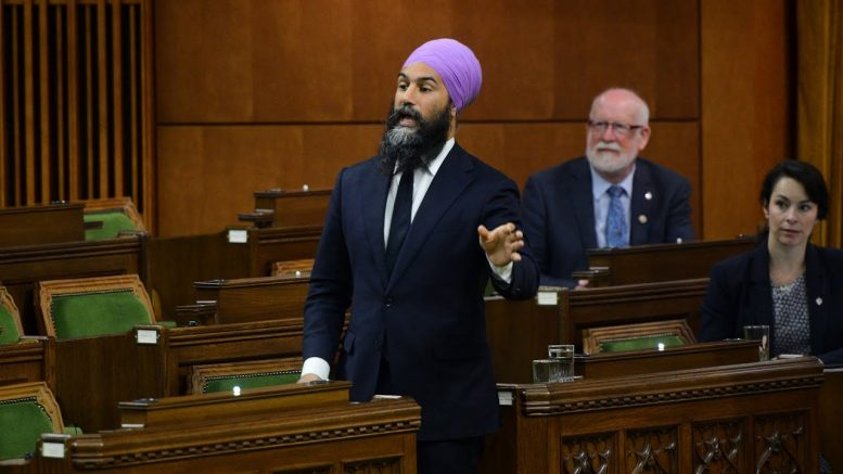 "NDP Leader Jagmeet Singh ""frustrated"" by failed CERB negotiations 1"