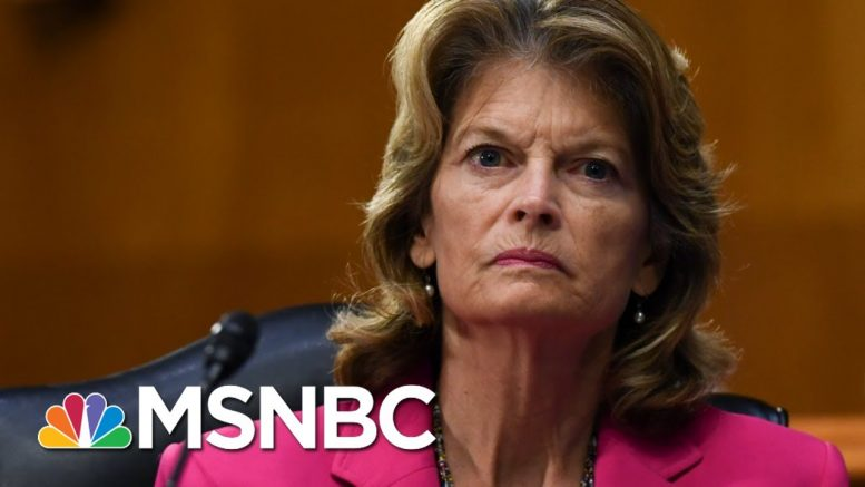 Sen. Murkowski Brushes Off Trump's Promise To Campaign Against Her | Morning Joe | MSNBC 1