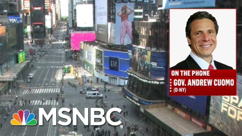 Gov. Andrew Cuomo: Change Comes When The People Demand It | Deadline | MSNBC 1