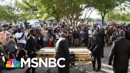 Sharpton: George Floyd's Funeral Showed 'The Determination To Keep Fighting For Justice'   MSNBC 4