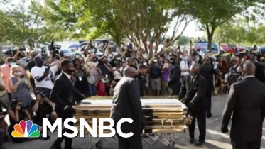 Sharpton: George Floyd's Funeral Showed 'The Determination To Keep Fighting For Justice' | MSNBC 6
