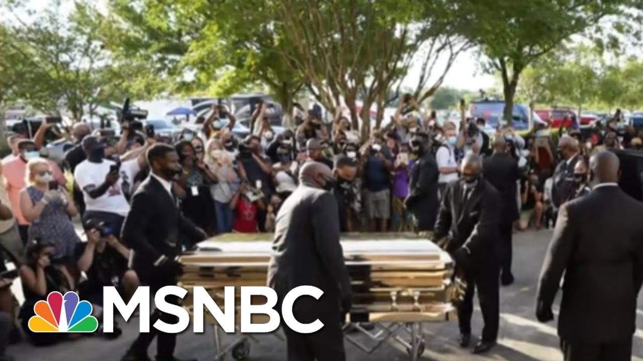 Sharpton: George Floyd's Funeral Showed 'The Determination To Keep Fighting For Justice' | MSNBC 1