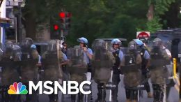 Protestors Forced Out Of Lafayette Park Before Trump Visits Church | MSNBC 7