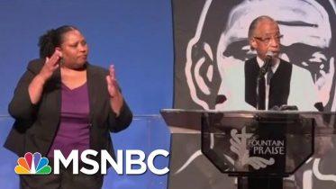 Rev. Al: George Floyd Funeral 'Was Very, Very Emotional' | Morning Joe | MSNBC 5