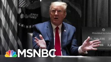 Trump Tweets An Attack On A Protester As George Floyd Is Laid To Rest   The 11th Hour   MSNBC 6