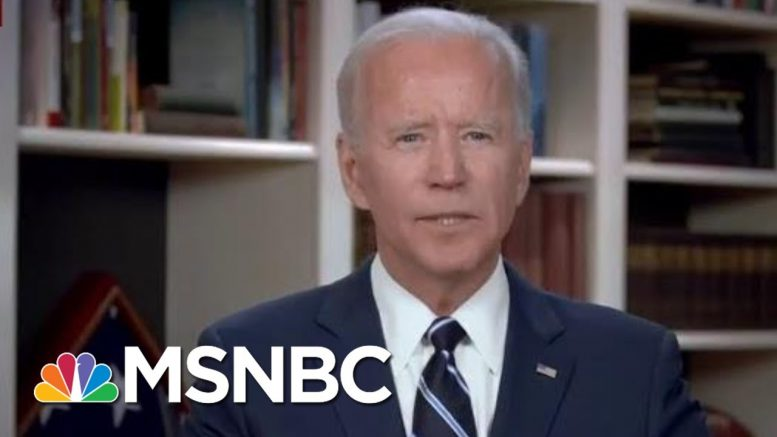 Biden's Response Is The Response Americans On Both Sides Are Used To: Joe | Morning Joe | MSNBC 1
