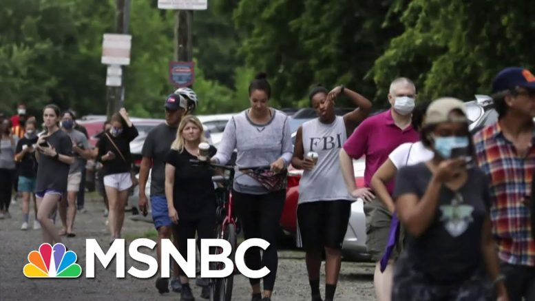 Georgia Elections Show 'The Voter Suppression Machinery Is Working As Designed' | MSNBC 1