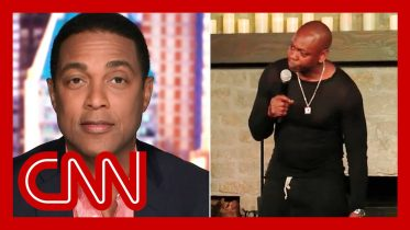 Don Lemon reacts to Dave Chappelle calling him out in Netflix special 6