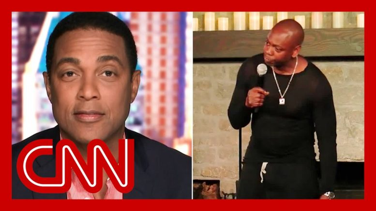 Don Lemon reacts to Dave Chappelle calling him out in Netflix special 1