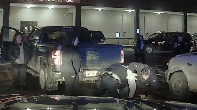 WARNING: Full video of Chief Allan Adam's arrest 1