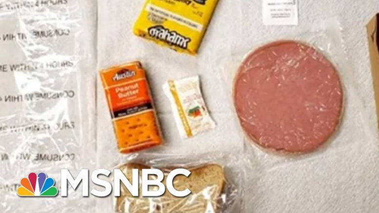 Migrants At AZ ICE Facility Given Rotten Food, Forced To Clean Without COVID-19 Protection | MSNBC 1