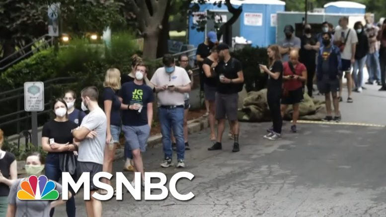 Kemp Admin Seems Intent On Keeping Georgia Voting Broken For 2020 | Rachel Maddow | MSNBC 1
