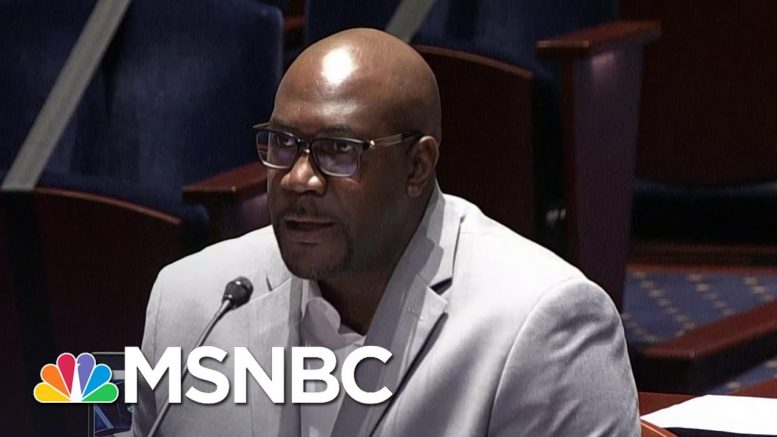 'Stop The Pain': George Floyd's Brother Testifies At Hearing On Police Brutality | MSNBC 1