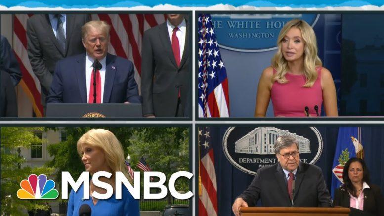 Trump Admin Vote Suppression Plan Seen In Vote-By-Mail Hypocrisy   Rachel Maddow   MSNBC 1