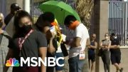 Long Lines Plague Nevada Primary Election | MSNBC 5