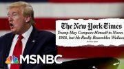 Steve Schmidt Calls Trump 'The Second President Of The Confederacy' | Deadline | MSNBC 5