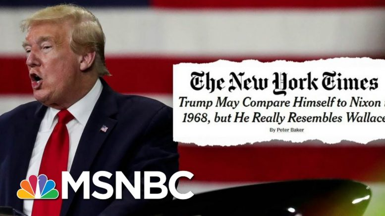 Steve Schmidt Calls Trump 'The Second President Of The Confederacy' | Deadline | MSNBC 1