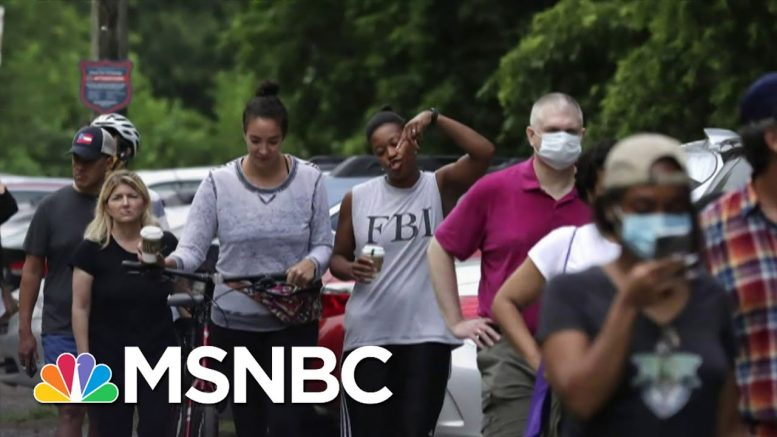 Georgia's Primary Election Plagued With Problems | Deadline | MSNBC 1