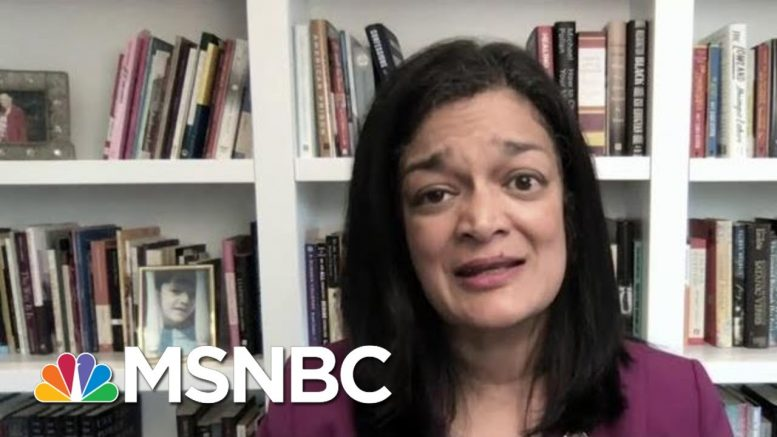 Rep. Pramila Jayapal: We Need Federal Ban On Chokeholds, No-Knock Warrants | MTP Daily | MSNBC 1