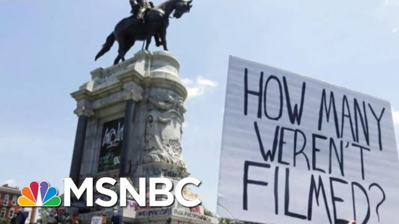 'I Can't Breathe': Another Shocking Fatal Arrest Video Emerges After Floyd Killing   MSNBC 1