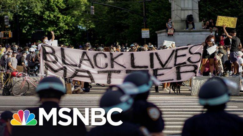 'Lightning Striking': The Swift Shift Of Public In Favor Of Black Lives Matter | All In | MSNBC 1