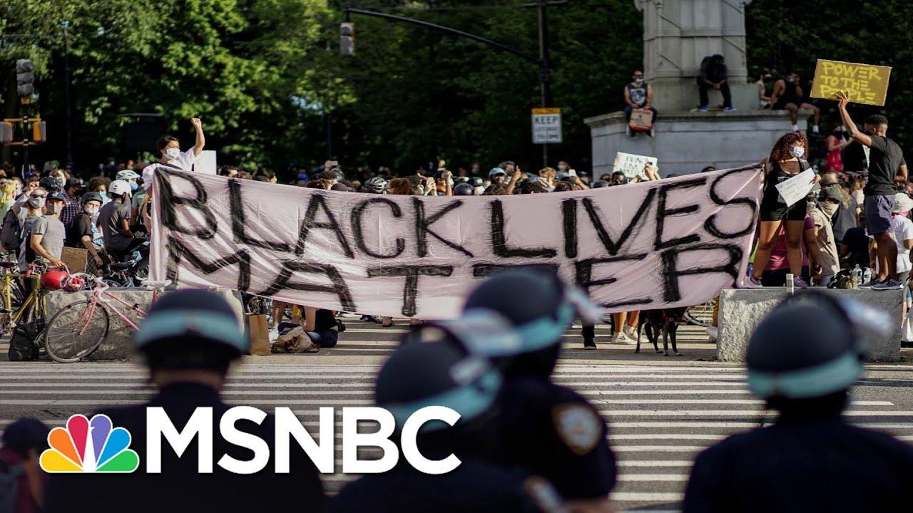 'Lightning Striking': The Swift Shift Of Public In Favor Of Black Lives Matter | All In | MSNBC 8
