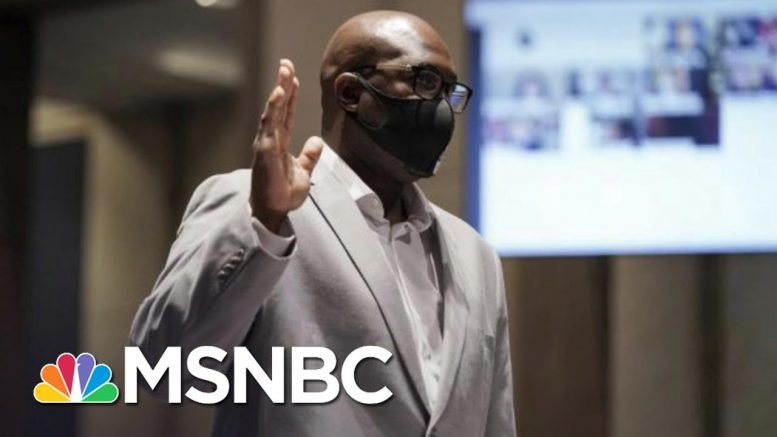 George Floyd's Brother Testifies To Congress As Trump Plans A Campaign Rally | The 11th Hour | MSNBC 1