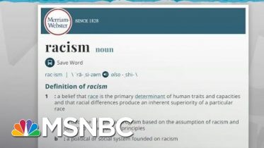 Woman Convinces Merriam-Webster To Update Definition Of Racism | Rachel Maddow | MSNBC 6