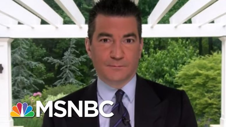 'We Can't Let Our Guard Down' On Virus, Says Dr. Gottlieb | Morning Joe | MSNBC 1