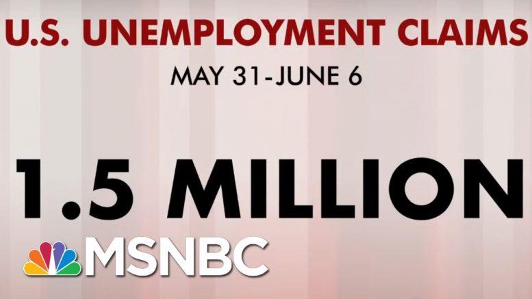 1.5 Million More Americans File For Unemployment Benefits | Morning Joe | MSNBC 1
