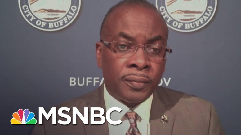 Mayor Byron Brown: 'Police Union Has Been A Barrier To Police Reform'   Stephanie Ruhle   MSNBC 1