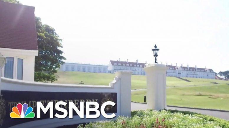 Trump's Scotland Golf Resorts To Get Over $1 Million in Scottish Tax Relief | MSNBC 1