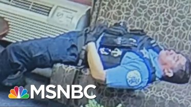 'Cowards': Rush Slams Chicago Police Caught Lounging In His Office Amid Looting | All In | MSNBC 10