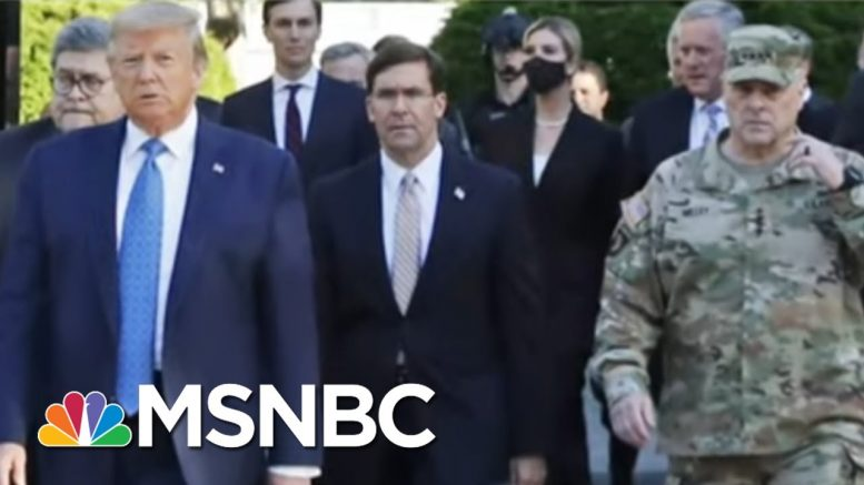Joint Chiefs Chairman Apologizes For His Role In Trump's Church Photo Op | The Last Word | MSNBC 1