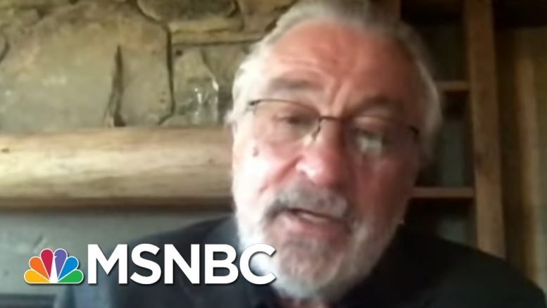 Robert De Niro: Trump Is 'Worse Than We Could Have Imagined' | The Last Word | MSNBC 1