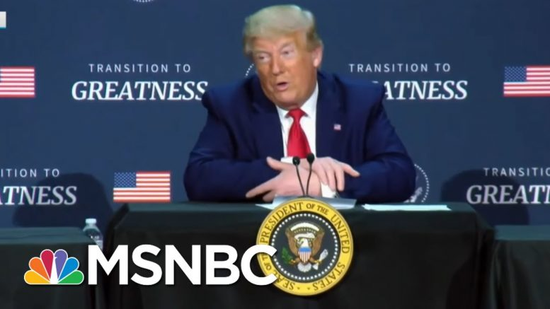 Trump Omits Local Black Officials From Race And Policing Event | Rachel Maddow | MSNBC 1