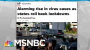 Surprise! Raging Coronavirus Epidemic Is Bad For The Economy | Rachel Maddow | MSNBC 4