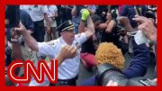 NYPD chief takes a knee with George Floyd protesters 4