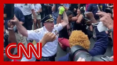 NYPD chief takes a knee with George Floyd protesters 6
