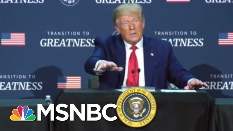 Trump Praises National Guard For Dispersing Protesters 'Like A Knife Cutting Butter' | MSNBC 1
